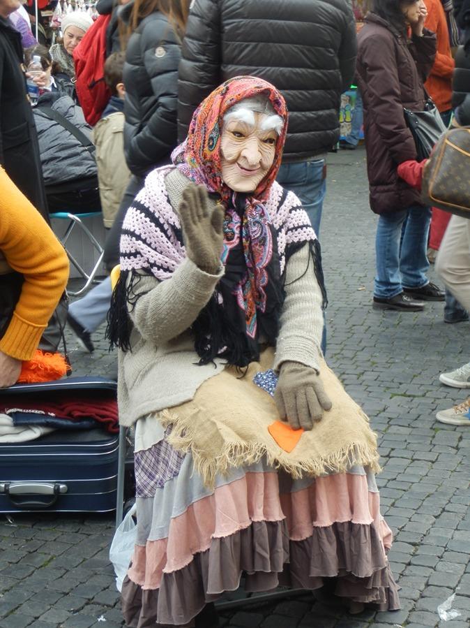 Mozzarella Mamma La Befana - Italy's Good Witch - Mozzarella Mamma