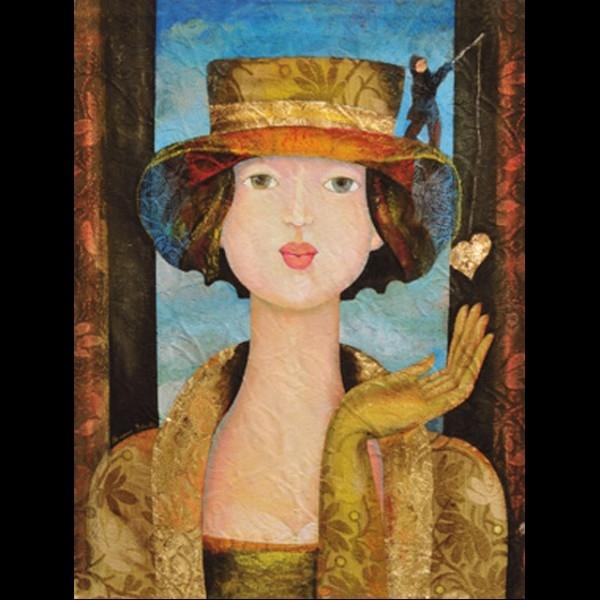 A painting by Italian artist  Rossana Petrillo