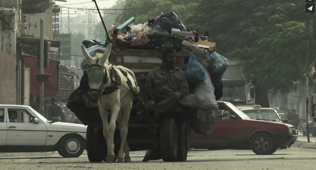 Fermo immagine del video girato a Gaza da Simone Camilli