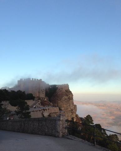 The Venus Castle in Erice. Photo by Trisha Thomas, August 29, 2014