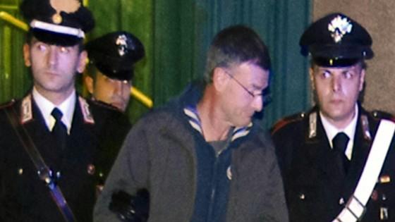 Massimo Carminati arrest. Rome, December 2014