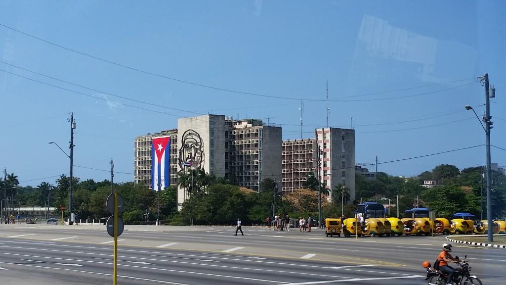 Revolution Square. Havana Cuba. Photo by Gwen Thomas. March 13, 2015