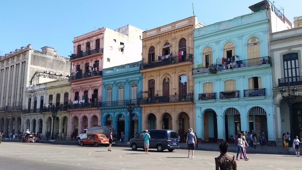 Havana Street Scene. March 17, 2015. Photo by Gwen Thomas