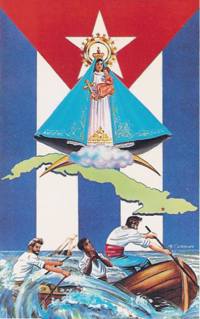 The Patron Saint of Cuba. Our Lady of Charity of Cobre, or the Virgin of Charity of Copper