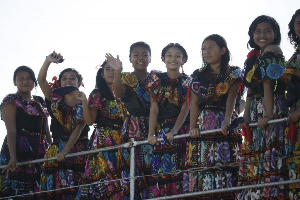Young women in Mexico. Photo by AP Photographer Gregorio Borgia, February 14, 2016