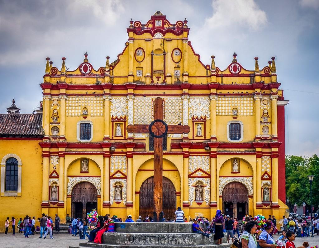 The Cathedral in San Cristobal. Credit: www.explorandomexico.com