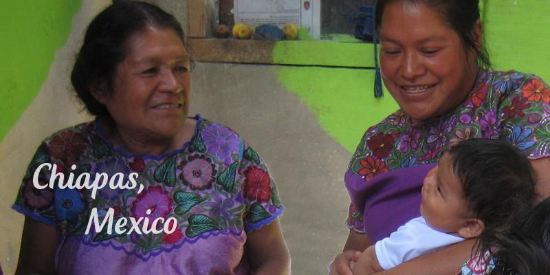 Women in Chiapas. Credit: www.natik.org