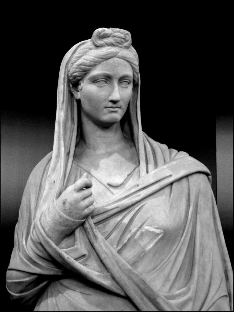 Statue of Vibia Sabina, wife of Emperor Hadrian, from Hadrian's Villa in Tivoli